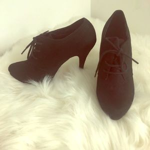 Black Witchy Booties